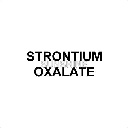 Strontium Oxalate