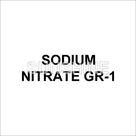 Sodium Nitrate GR-1