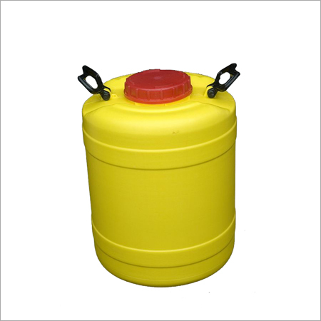 Yellow Wide Mouth Jars 30 Ltr