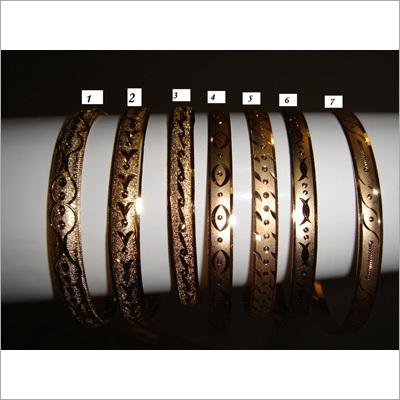 Oro Laminado Bangles