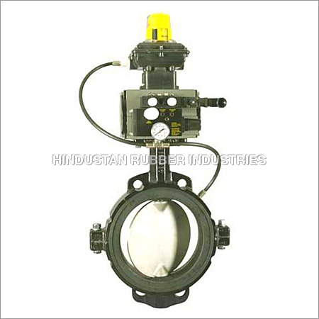 Inflatable Seated Butterfly Valve