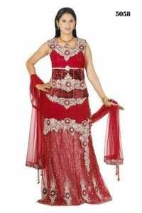 Bridal Red Lehanga