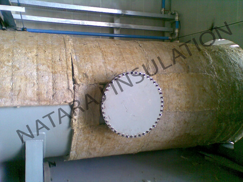 Insulation Of 2 Mtr Dia Pipe