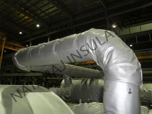 Removable/ Reusable Insulation Jacket Pipe & Bend