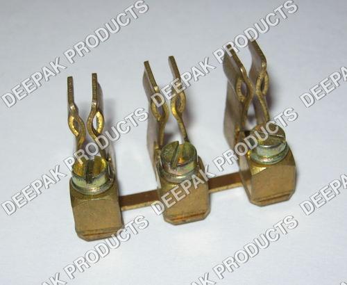 Brass Fuse Block