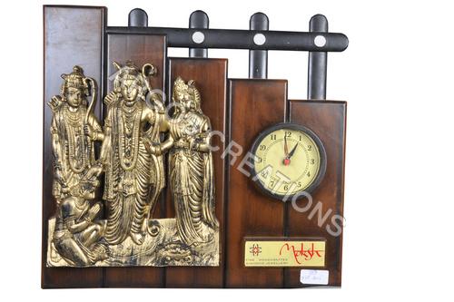 Ram Darbar wall clock