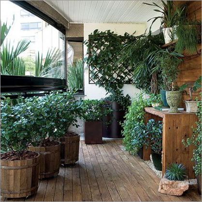 Balcony Garden Idea - Balcony Garden Idea Exporter, Manufacturer ...