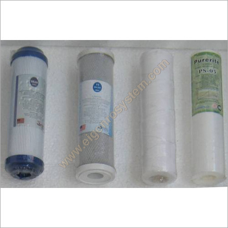 Domestic water filter cartridge