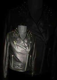 Collar Leather Jacket
