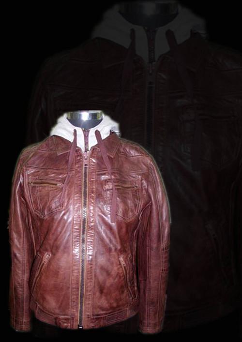 Ladies Leather Jacket Coat