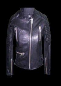 Ladies Colored Leather Jacket