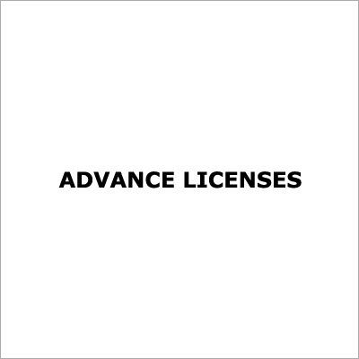 Advance Licenses