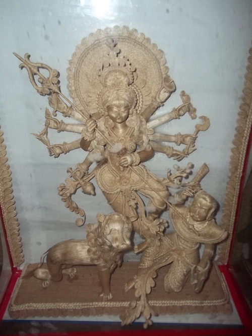 女神のDurgaの展示品