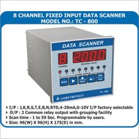 8 Channel Data Logger Panel mount
