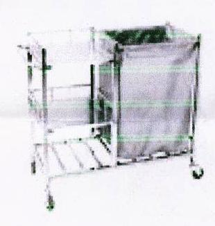 Trolley With 3 Shelves for Linen