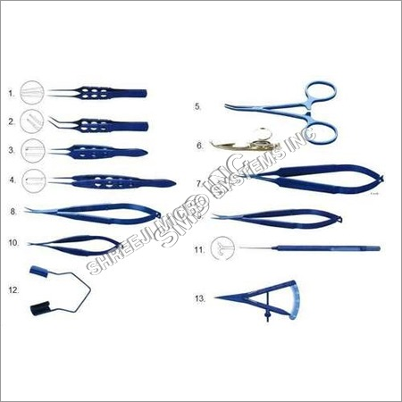 Titanium Ophthalmic Surgical Instruments