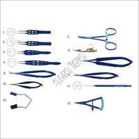 Ophthalmic Titanium Surgical Instruments