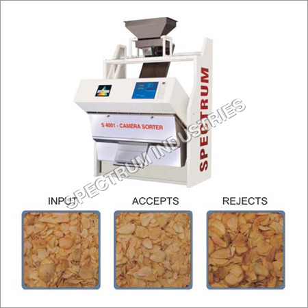 Dehydrated Garlic Flakes Sorter Machine