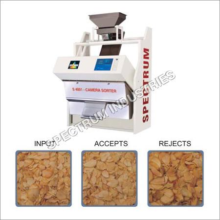 Dehydrated Garlic Flakes Sorter Machine