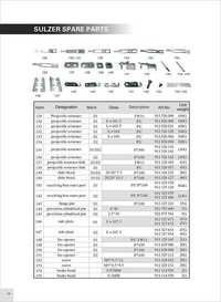 Sulzer Projectile Loom  Parts