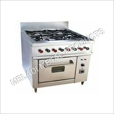 4 Burner with oven
