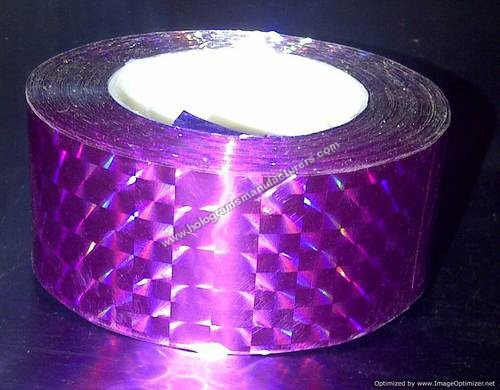 Holographic tapes for hoola hoops(Prism Fuschia)