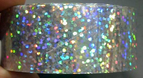 Holographic Tapes (Sequins Silver)