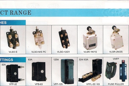 limit Switches & HRC Fuse Fittings