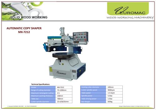 Automatic Copy Shaper