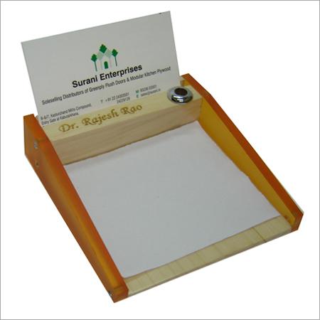 Wooden Paper Holders