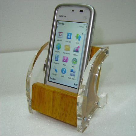 Wooden Mobile stands