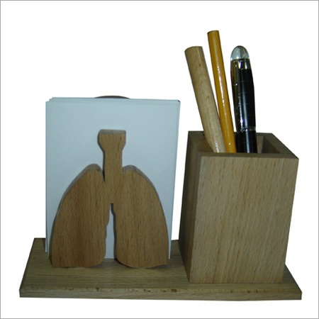Lungs Slip with Pen stand