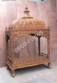 Wooden Palki Sahib