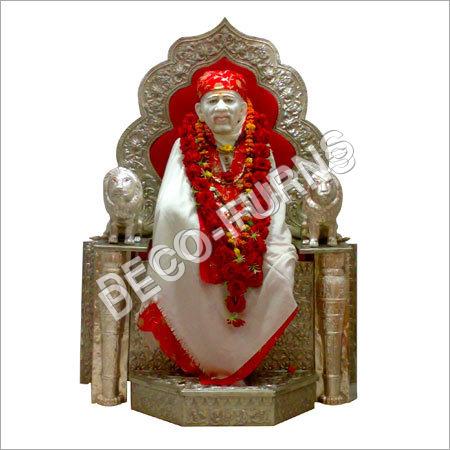 Silver Sai Singhasan