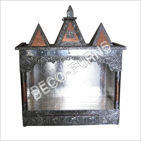 Silver Pooja Mandir