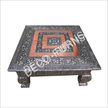 Antique Metal Chowki