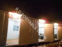 Portable Staff Rest Rooms