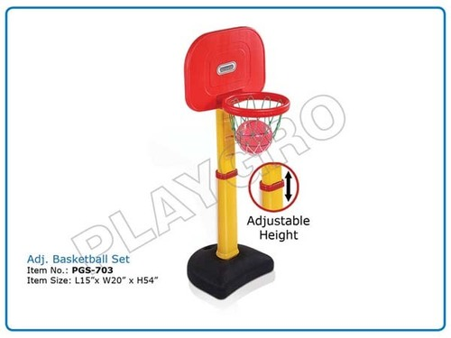 Adj.Basketball Set