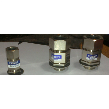 Double Compression Flame Proof Gland
