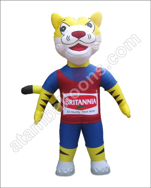Tiger Mascot Balloon