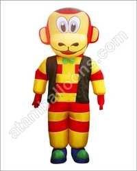 Monkey Mascot Balloon