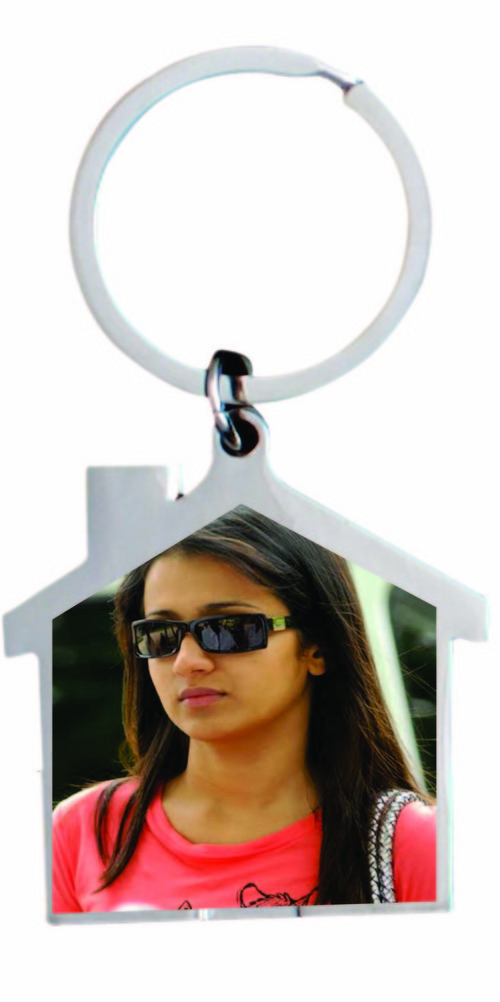 Hut Shape Keychain