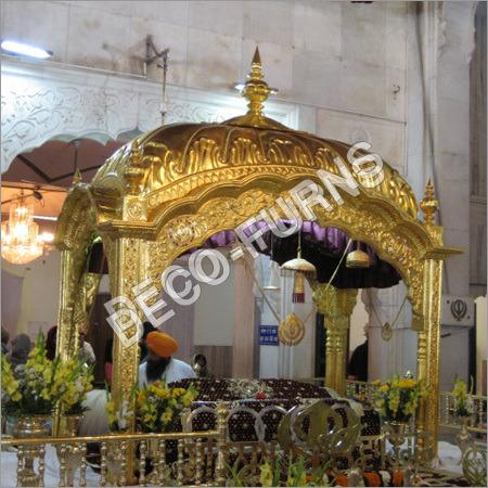 Gold Palki Sahib