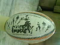 ZIGZAG UNION RUGBY BALL