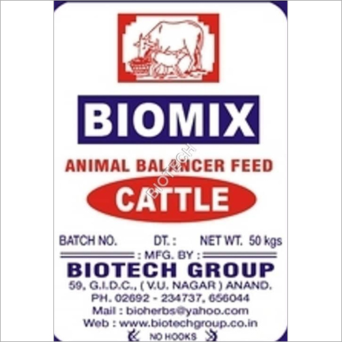 Biomix calf feed