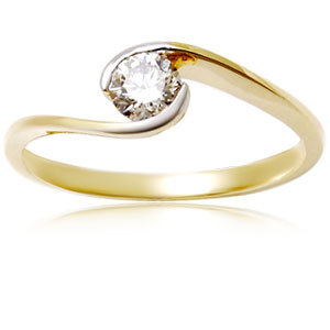 Diamond Engagement Ring gold ring
