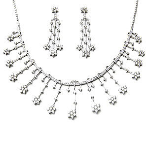 Bridal Diamond Necklace Set