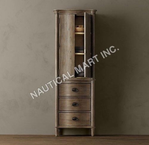 Vintage Empire Rosette Medium Bath Cabinet
