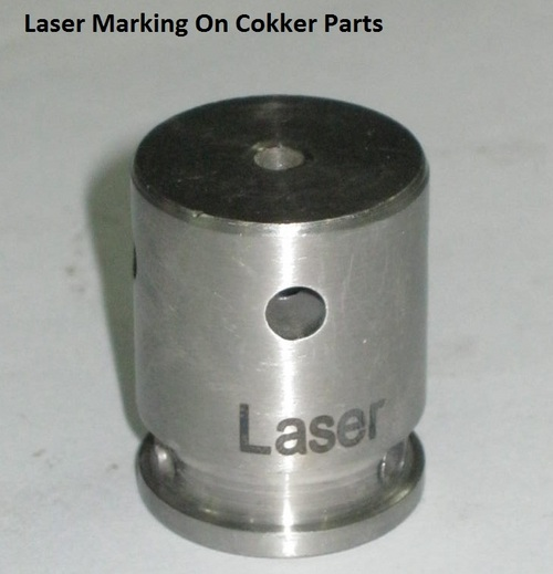 Laser Marking On Cooker Parts