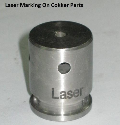 Laser Marking On Cooker Parts